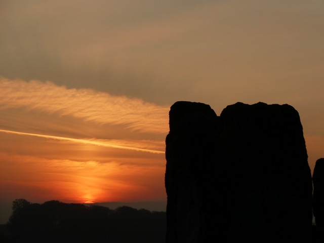 Samhain sunrise 6th November 2011