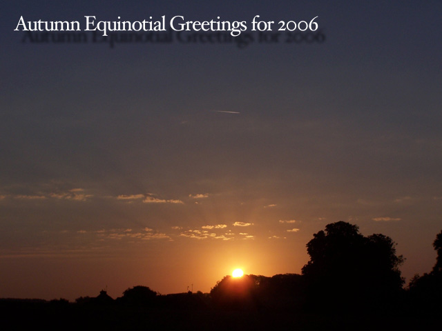 Autumn Equinox Card 2006